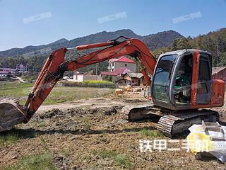 江西-吉安市二手日立ZX70挖掘机实拍照片