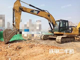 山东-青岛市二手卡特彼勒326DL挖掘机实拍照片