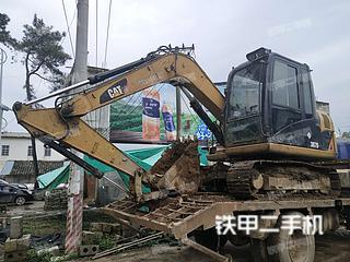 广西-南宁市二手卡特彼勒307D液压挖掘机实拍照片
