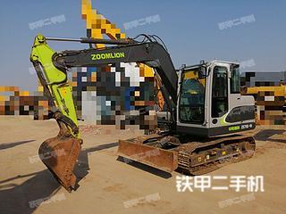 中聯重科ZE75E-10挖掘機實拍圖片