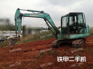 四川-资阳市二手神钢SK60-8挖掘机实拍照片