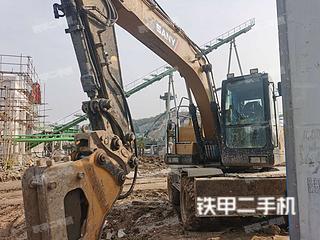 二手三一重工 SY155W 挖掘机转让出售