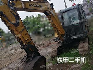 四川-成都市二手现代R60-7挖掘机实拍照片