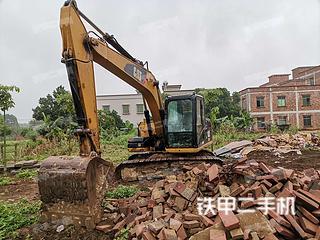 广东-湛江市二手卡特彼勒312D挖掘机实拍照片