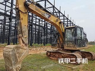 湖南-长沙市二手卡特彼勒313D挖掘机实拍照片