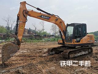 湖南-永州市二手三一重工SY135C挖掘机实拍照片