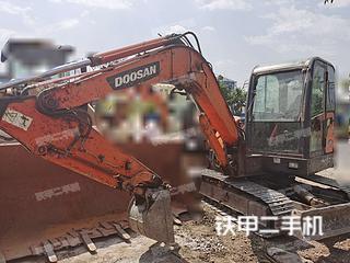 四川-凉山彝族自治州二手斗山DH60-7挖掘机实拍照片