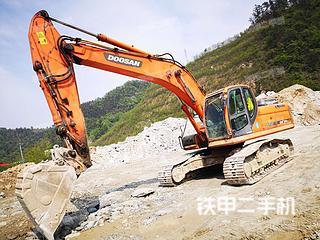 湖北-十堰市二手斗山DX260LC挖掘机实拍照片