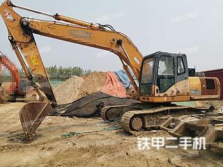 河南-许昌市二手雷沃重工FR220-7挖掘机实拍照片