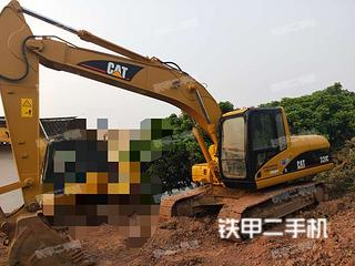 广东-梅州市二手卡特彼勒320C挖掘机实拍照片