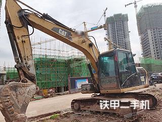 重庆-重庆市二手卡特彼勒313D挖掘机实拍照片