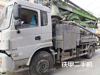 安徽-亳州市二手北方股份北方重工37m混凝土泵车泵车实拍照片