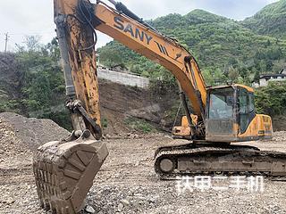 四川-广元市二手三一重工SY215C挖掘机实拍照片
