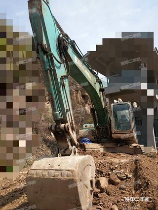 河北-邯郸市二手神钢SK250-8挖掘机实拍照片