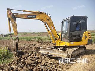 湖北-荆门市二手雷沃重工FR60E挖掘机实拍照片
