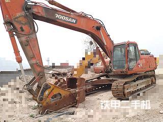 山东-日照市二手斗山DH300LC-7挖掘机实拍照片