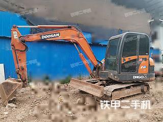 四川-内江市二手斗山DH60-7挖掘机实拍照片