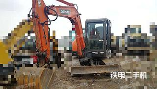 四川-德阳市二手斗山DH60-7挖掘机实拍照片