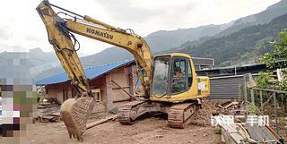 小松PC120-6E挖掘機實拍圖片