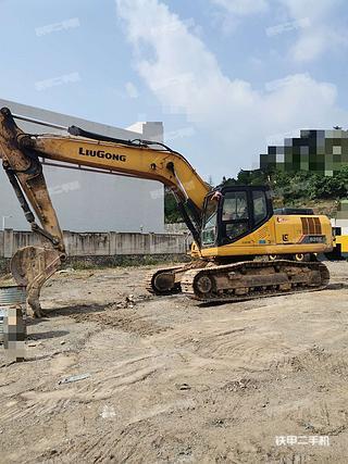 柳工CLG926E挖掘機實拍圖片