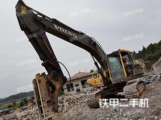 湖北-恩施市二手沃尔沃EC210B挖掘机实拍照片
