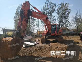 山东-青岛市二手斗山DH300LC-7挖掘机实拍照片