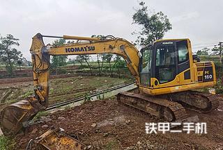 大足小松PC130-8M0挖掘机实拍图片