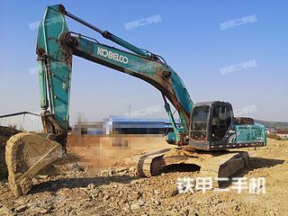 江西-九江市二手神钢SK350LC-8挖掘机实拍照片