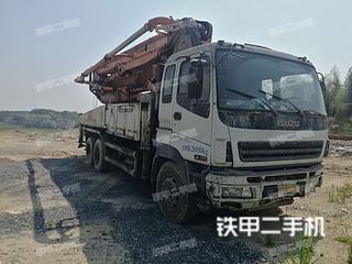湖南-衡阳市二手中联重科ZLJ5390THB42泵车实拍照片