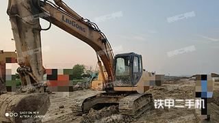 襄陽柳工CLG922D挖掘機實拍圖片