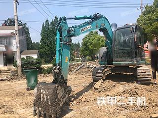 湖北-仙桃市二手神钢SK70挖掘机实拍照片