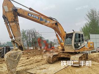 湖南-岳阳市二手加藤HD820III挖掘机实拍照片