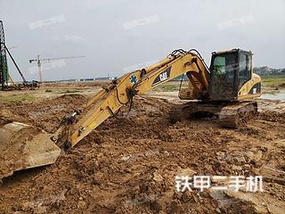 广东-湛江市二手卡特彼勒312C挖掘机实拍照片