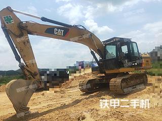 广东-梅州市二手卡特彼勒320D液压挖掘机实拍照片