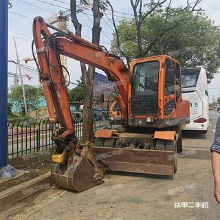 阜陽新源XY65W-8挖掘機實拍圖片