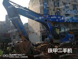 閘北山重建機GC208-8挖掘機實拍圖片