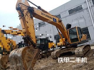 江苏-常州市二手现代R275LC-9T挖掘机实拍照片