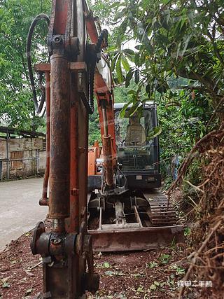 四川-雅安市二手斗山DH60-7挖掘机实拍照片