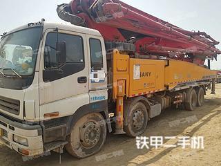 三一重工SY5418THB-56E(6)泵車實拍圖片