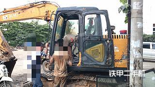 閘北山重建機JCM908D挖掘機實拍圖片