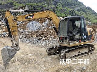 广西-河池市二手卡特彼勒307D液压挖掘机实拍照片