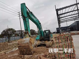 四川-雅安市二手神钢SK350LC-8挖掘机实拍照片