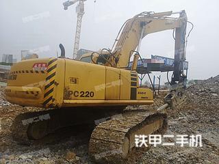 武漢小松PC220-6E挖掘機實拍圖片