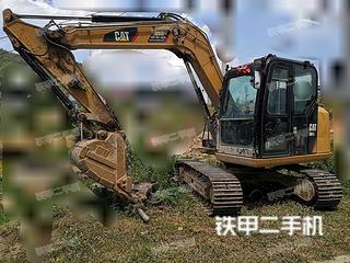 贵州-黔南布依族苗族自治州二手卡特彼勒307E2小型液压挖掘机实拍照片