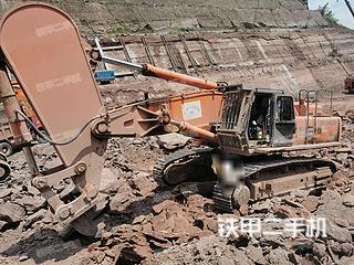日立ZX650H挖掘机实拍图片