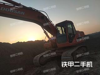 山东-济南市二手斗山DH220LC-7挖掘机实拍照片