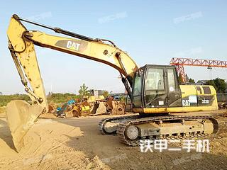 湖北-鄂州市二手卡特彼勒323DL挖掘机实拍照片