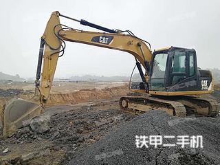 湖南-邵阳市二手卡特彼勒313D挖掘机实拍照片