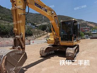 小松PC110-8M0挖掘机实拍图片