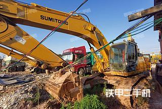 住友SH330-3挖掘機實拍圖片
